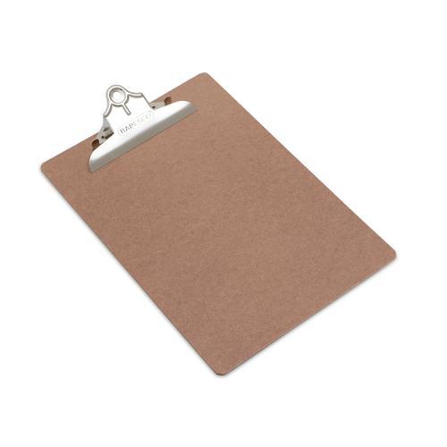 Rapesco Hardboard Clipboard A4 Foolscap Brown VHBCB003