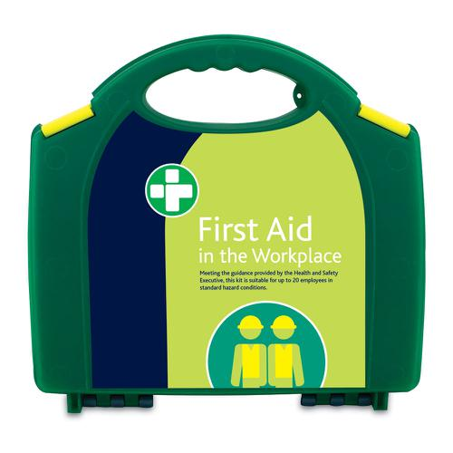 Hse First Aid Kit In Integral Aura Box With Superior Contemporary Looks. Durable Polypropylene Box W