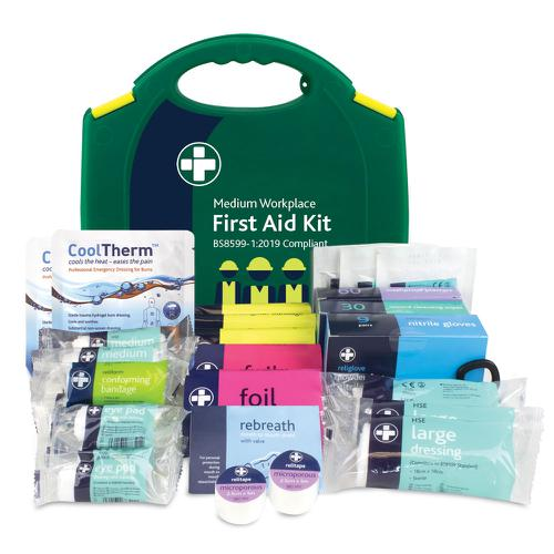 Reliance Medical Medium Workplace First Aid Kit BS8599-1 343 First Aid Kits HS88343