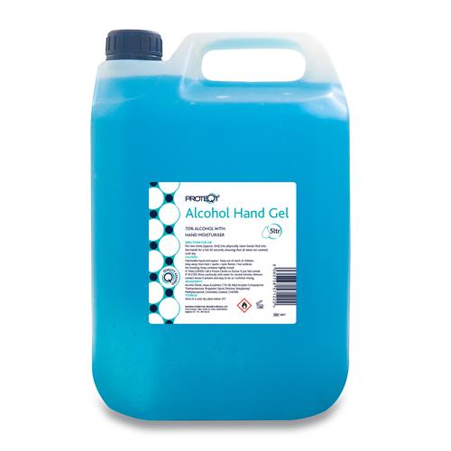 Proteqt™ Alcohol Hand Gel 5 Litre