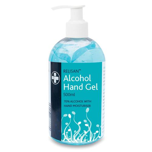 Relisan Alcohol Hand Gel 500ml