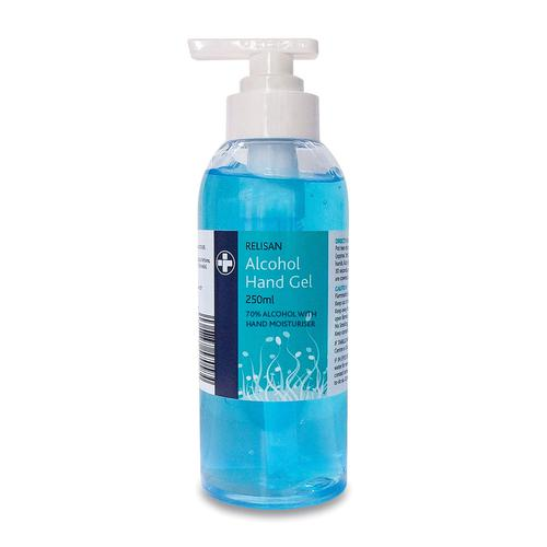 Relisan Alcohol Hand Gel 250ml