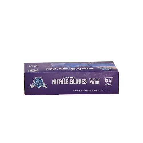 Empress Nitrile Gloves Blue Powder Free X-Large Pack 10 / 100 cs