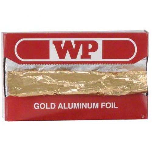 Western Interfolded Foil Sheets 9 x 10 3/4 Gold Pop Up Pack 12/200