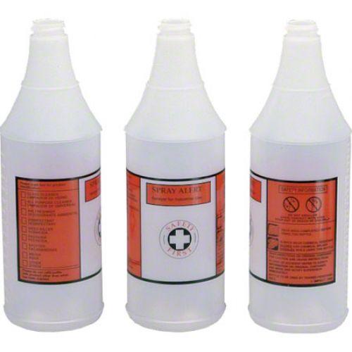 Impact Plastic Bottle Spray Alert 32 oz Red And Black Pack 1 EA
