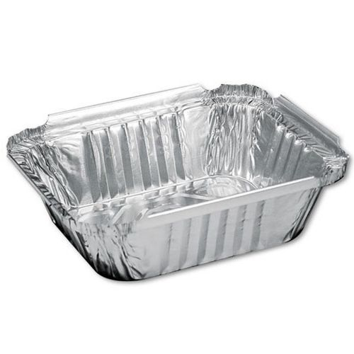 HFA 1 LB Oblong Aluminum Pan 5-1/8x4-1/8x1-5/8 Pack 1000