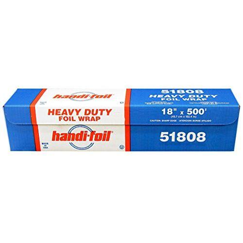 """HFA 18""""x500 Heavy Duty Roll Foil Pack 1 Roll"""