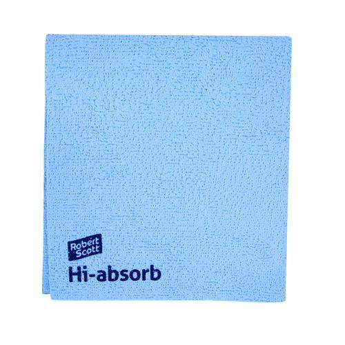 Hi-absorb Microfibre Cloth 35x38cm 103986 [Pack 5]
