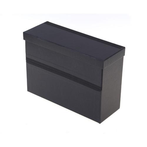 Ryman Filing Box Landscape A4 Foolcap in Black