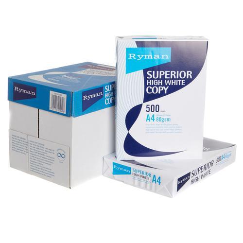 Ryman Superior Copier Paper A4 80gsm 1 Ream of 500 Sheets