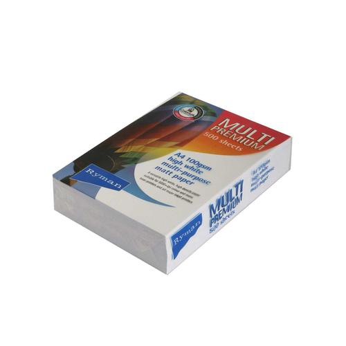 Ryman Multi Premium Paper A4 100gsm Pack of 500 Sheets