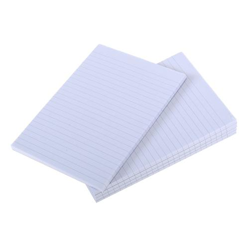Ryman Ruled Memo Pad with 80 Sheets in A5 Pack of 5