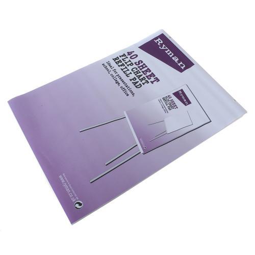 Ryman Plain Flipchart Pad A1 80gsm 40 Sheets
