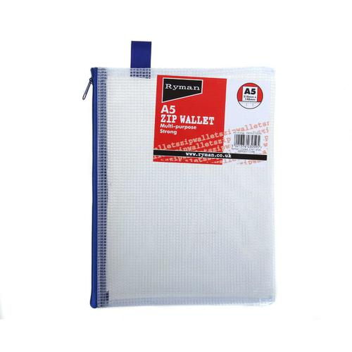 Ryman Zip Bags A5 Heavy Duty
