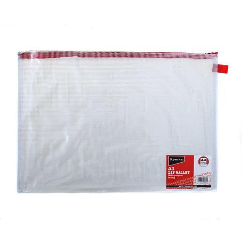 Ryman Zip Bags A3 Heavy Duty