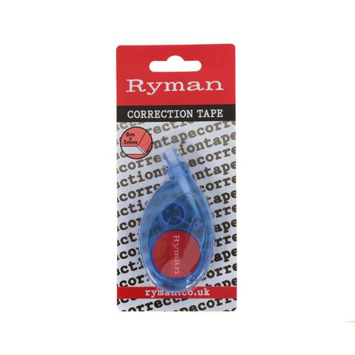 Ryman Correction Tape Approx 5mm x 8m