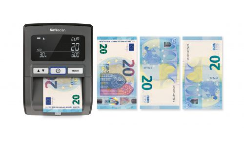 Safescan Black Auto Counterfeit Detector 155-S 112-0529