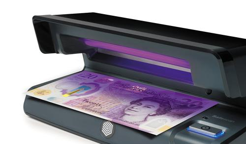Safescan Counterfeit Detector 70 UV Checker W206xD102xH88mm Black 131-0400