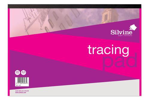 Silvine A3 Tracing Pad PK5