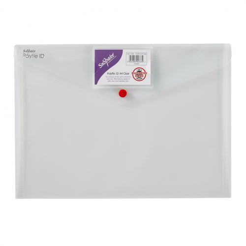 Snopake Polyfile ID Wallet File A4 Clear PK5