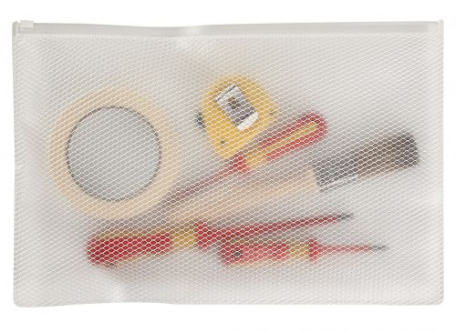 Snopake EPPE Zippa-Bag 270 x 395mm White (Pack of 5) 15815