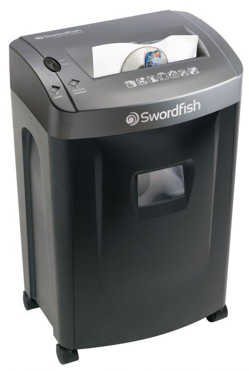 Swordfish 1500XCD Cross Cut Shredder 45011