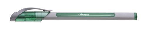 Platignum S-Tixx Ballpoint Pen Green (12 Pack) 50515