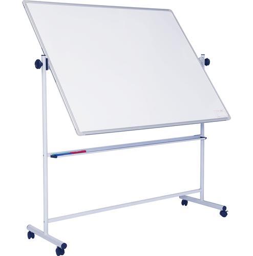 Non-Magnetic Mobile Swivel Writing Board - Landscape - 1800(w) x 1200mm(h)