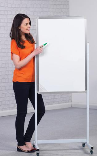Non-Magnetic Mobile Writing Board - Portrait - 1200(w) x 1500mm(h)