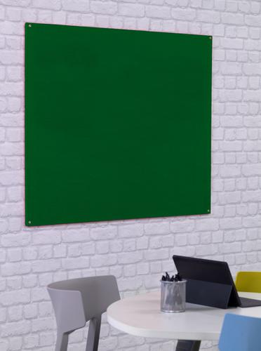 Unframed Noticeboard - Green - 900(w) x 600mm(h)