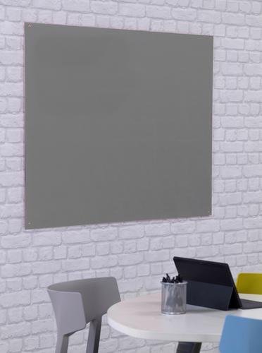 Unframed Noticeboard - Grey - 2400(w) x 1200mm(h)