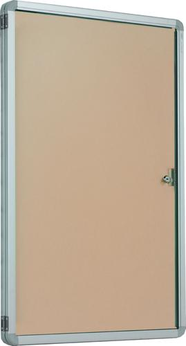 Accents FlameShield Side Hinged Tamperproof Noticeboard - Natural - 900(w) x 1200mmm(h)
