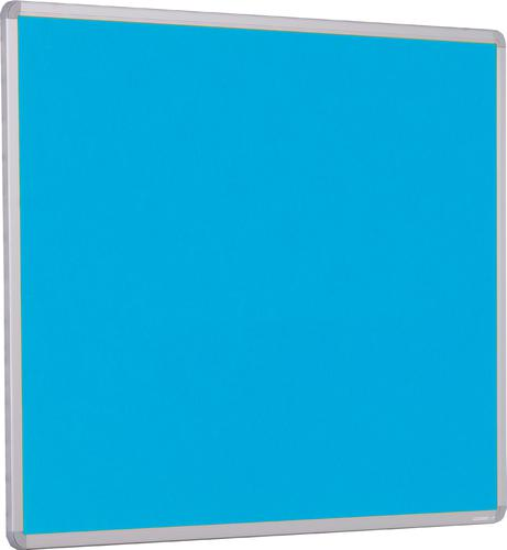 Accents Aluminium Framed Noticeboard - Light Blue - 900(w) x 600mm(h)