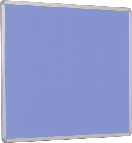 Accents Aluminium Framed Noticeboard - Lilac - 900(w) x 600mm(h)