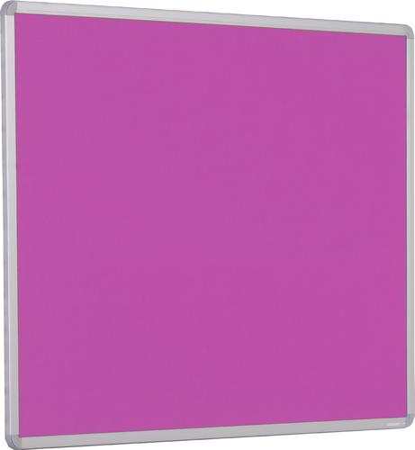 Accents Aluminium Framed Noticeboard - Lavender - 1200(w) x 900mm(h)