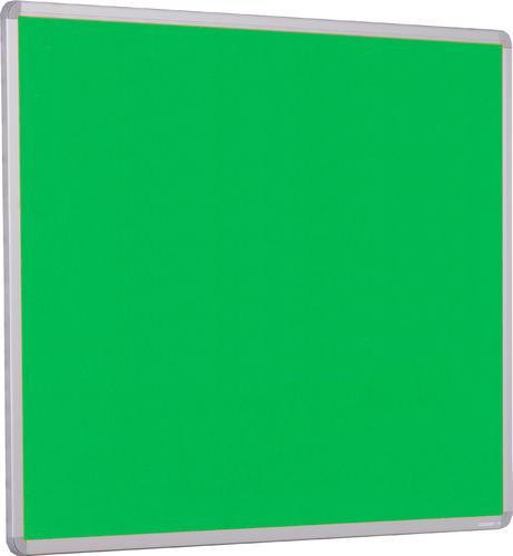 Accents Aluminium Framed Noticeboard - Light Green - 1200(w) x 900mm(h)