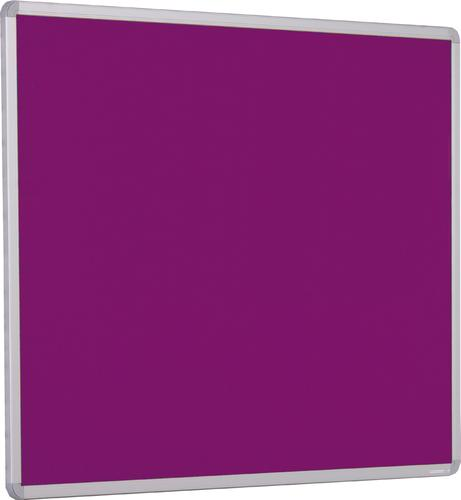 Accents Aluminium Framed Noticeboard - Plum - 1500(w) x 1200mm(h)