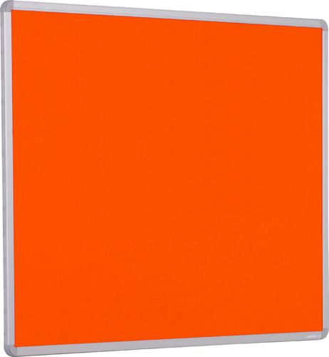 Accents Aluminium Framed Noticeboard - Orange - 1800(w) x 1200mm(h)