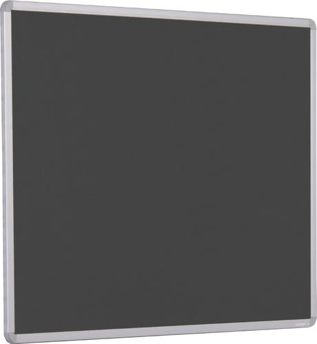 Accents Aluminium Framed Noticeboard - Charcoal - 2400(w) x 1200mm(h)