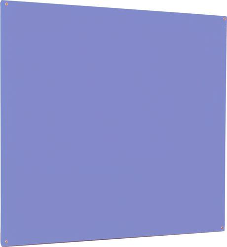Accents Unframed Noticeboard - Lilac - 900(w) x 600mm(h)