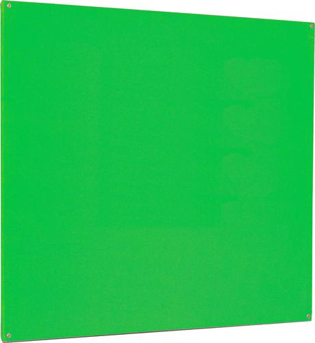 Accents Unframed Noticeboard - Light Green - 1200(w) x 900mm(h)