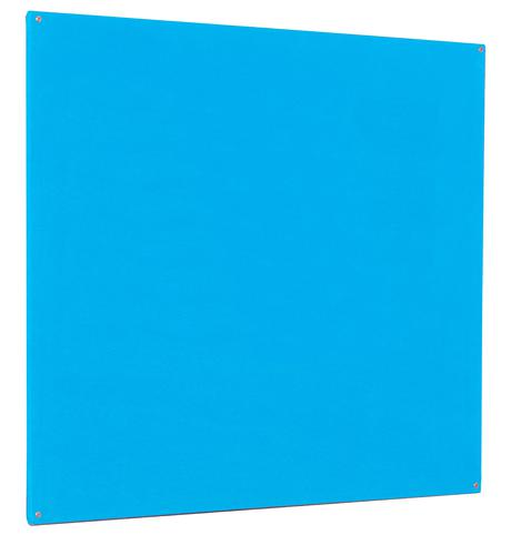 Accents Unframed Noticeboard - Light Blue - 1200(w) x 1200mm(h)