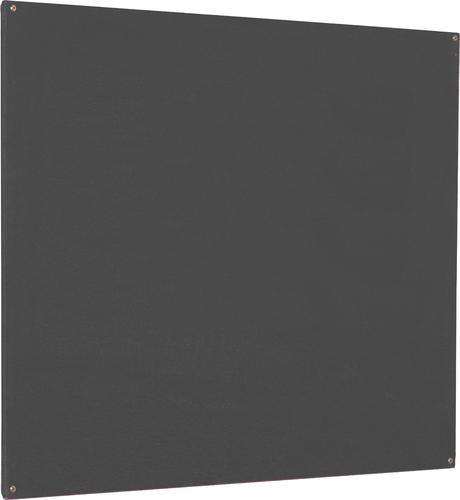 Accents Unframed Noticeboard - Charcoal - 1800(w) x 1200mm(h)