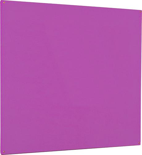 Accents Unframed Noticeboard - Lavender - 2400(w) x 1200mm(h)