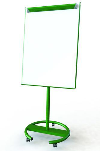 Ultramate Magnetic Round Base Flip Chart Easel -  Green