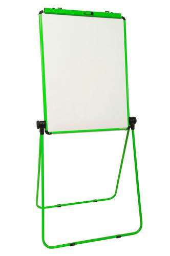 Ultramate Magnetic Loop Leg Flip Chart Easel -  Green