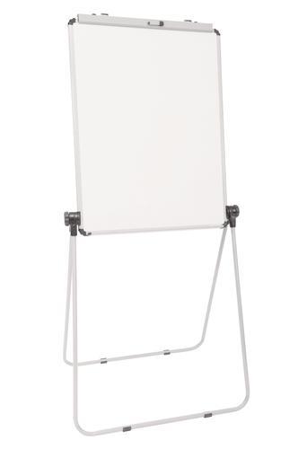 Ultramate Magnetic Loop Leg Flip Chart Easel -  White