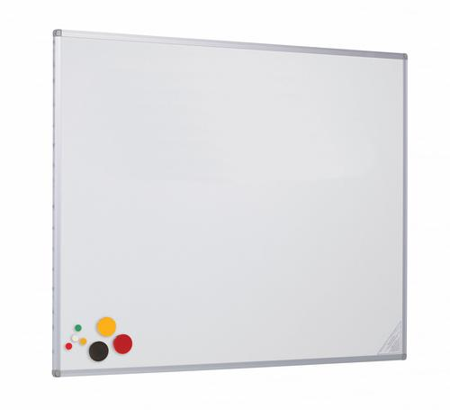 Magnetic Coated Steel Wall Mounted Writing Board - 2400(w) x 1200mm(h)
