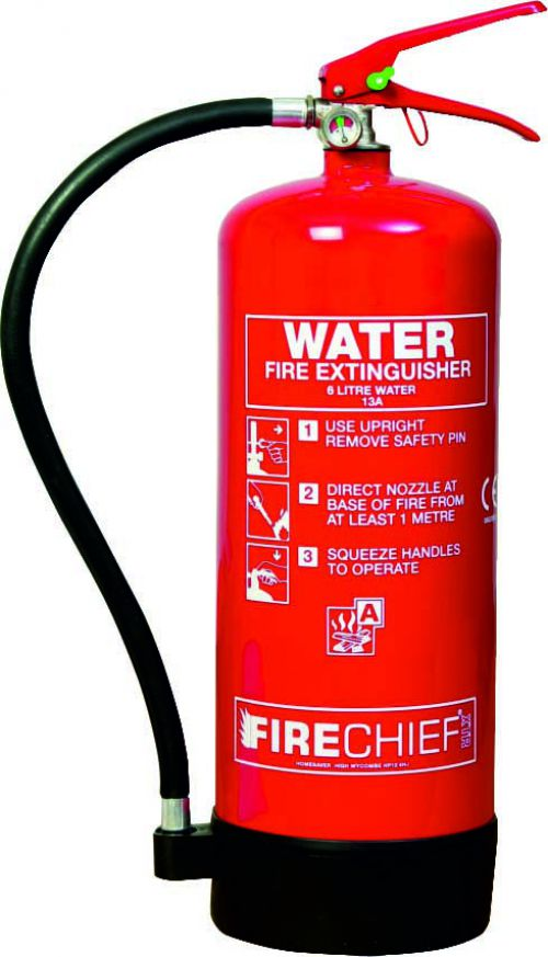 Spectrum Industrial Fire Extinguisher Water 6 Litre 14355