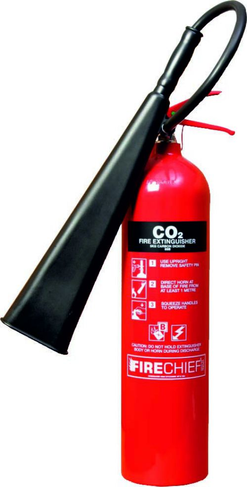 Spectrum Industrial Fire Extinguisher CO2 5kg 14358